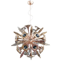 Remy 12 Light 33 inch Satin Copper Pendant Ceiling Light, Small