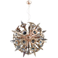 Cyan Design 07595 Remy 16 Light 40 inch Satin Copper Pendant Ceiling Light Large