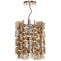 Havilland 4 Light 16 inch Satin Copper Pendant Ceiling Light