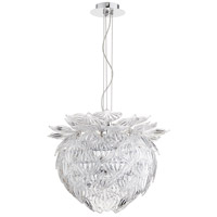 Okey Dokey 6 Light 18 inch Chrome Pendant Ceiling Light