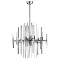 Quebec 6 Light 23 inch Satin Nickel Pendant Ceiling Light