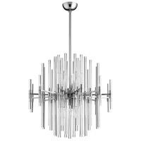 Cyan Design 07625 Quebec 6 Light 23 inch Satin Nickel Pendant Ceiling Light