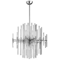 Quebec 6 Light 26 inch Satin Nickel Pendant Ceiling Light