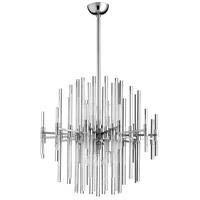 Cyan Design 07626 Quebec 6 Light 26 inch Satin Nickel Pendant Ceiling Light