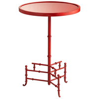 Liora 16 inch Chinese Red Side Table
