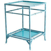 Akira 25 X 18 inch Blue Side Table