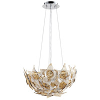 Cyan Design 07664 Moon Lillie 1 Light 19 inch Chrome Pendant Ceiling Light