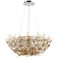 Cyan Design 07665 Moon Lillie 7 Light 26 inch Chrome Pendant Ceiling Light