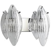 Cyan Design 07670 Arista 2 Light 18 inch Chrome Vanity Wall Light