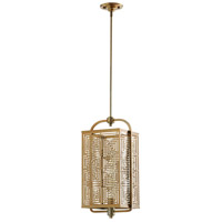 Cyan Design 07675 Allison 1 Light 10 inch Satin Brass Pendant Ceiling Light