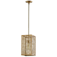 Cyan Design 07676 Allison 1 Light 8 inch Satin Brass Pendant Ceiling Light