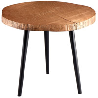Timber 27 inch Copper Side Table