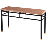 Cyan Design 07716 Kudos 60 X 20 inch Copper Console Table Home Decor