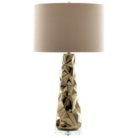 Cyan Design 07735 Everest 34 inch 100 watt Gold Table Lamp Portable Light