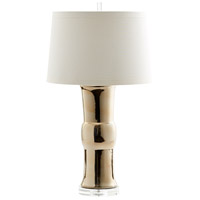 Cyan Design 07738 Elina 33 inch 100 watt Gold Table Lamp Portable Light