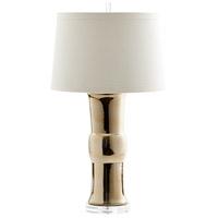 Cyan Design 07738 Elina 33 inch 100 watt Gold Table Lamp Portable Light