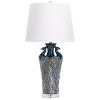 Cyan Design 07741 Two Birds 31 inch 100 watt Blue Table Lamp Portable Light