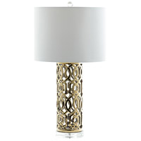 Cyan Design 07744 Empress 28 inch 100 watt Gold Table Lamp Portable Light