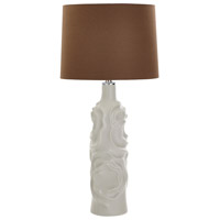 White Satin Lining Table Lamps