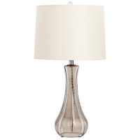 Cyan Design 07755 Luella 28 inch 100 watt Smoked Gray Table Lamp Portable Light