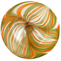 Cyan Design 07798 Chika Orange Plate, Medium