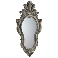 Abella 36 X 19 inch Whitewash Wall Mirror