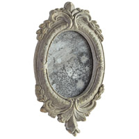 Addie 14 X 8 inch Antiqued Ash Mirror Home Decor