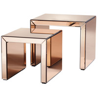 Abigail 24 X 21 inch Copper Nesting Table