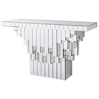 Cubic 50 X 17 inch Clear Console Home Decor