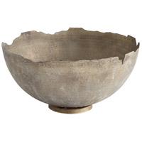 Cyan Design 07960 Pompeii Whitewash Bowl Large
