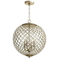 Cyan Design 07975 Skyros 4 Light 20 inch Silver Leaf Pendant Ceiling Light