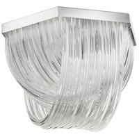 Cyan Design 07989 Galicia 3 Light 21 inch Chrome Flush Mount Ceiling Light Medium