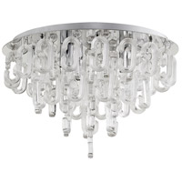 Centaurus 3 Light 21 inch Chrome Flush Mount Ceiling Light