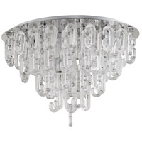 Centaurus 4 Light 23 inch Chrome Flush Mount Ceiling Light