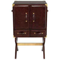 Hutch Brown Cabinet