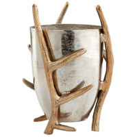 Cyan Design 08037 Nights Watch Nickel Vase Small