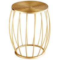 Zodiac 21 inch Gold Stool