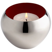 Cyan Design 08106 Signature Nickel Candle Cup Candle(s) not included