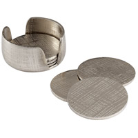 Cyan Design 08130 Signature Nickel Coasters