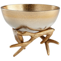Cyan Design 08131 Antler Anchored 5 inch Bowl, Small