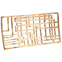 Cyan Design 08158 Circuit Board Antique Brass Tray, Large