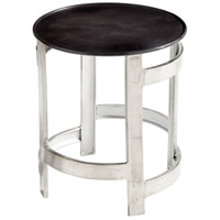 Ascension Silver and Bronze Side Table Home Decor