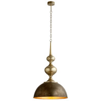 Cyan Design 08471 Hleeb 1 Light 21 inch Bronze and Gold Accents Pendant Ceiling Light
