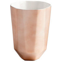 Cyan Design 08477 Neoteric Copper Outdoor Planter, Small photo thumbnail