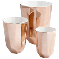 Cyan Design 08477 Neoteric Copper Outdoor Planter, Small alternative photo thumbnail