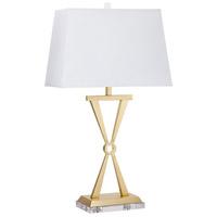 Cyan Design 08505 Bach 33 inch 100 watt Brass Table Lamp Portable Light