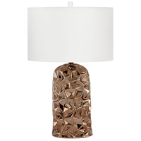 Bronze and Cream Table Lamps