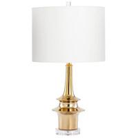 Cyan Design 08511 Wahoo 28 inch 100 watt Gold Table Lamp Portable Light