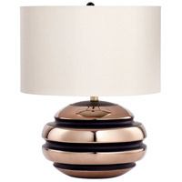 Patrice 23 inch 14 watt Bronze Table Lamp Portable Light