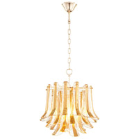 Camilla 1 Light 17 inch Gold Pendant Ceiling Light